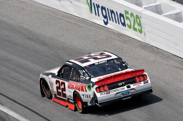 NASCAR Xfinity Series ToyotaCare 250 Richmond International Raceway, Richmond, VA USA Saturday 29 April 2017 Ryan Blaney, Discount Tire Ford Mustang World Copyright: Nigel Kinrade LAT Images ref: Digital Image 17RIC1nk08745