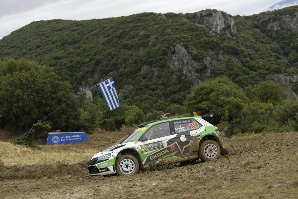 Andreas Mikkelsen (NOR), Toksport WRT, Skoda Fabia Evo Rally2