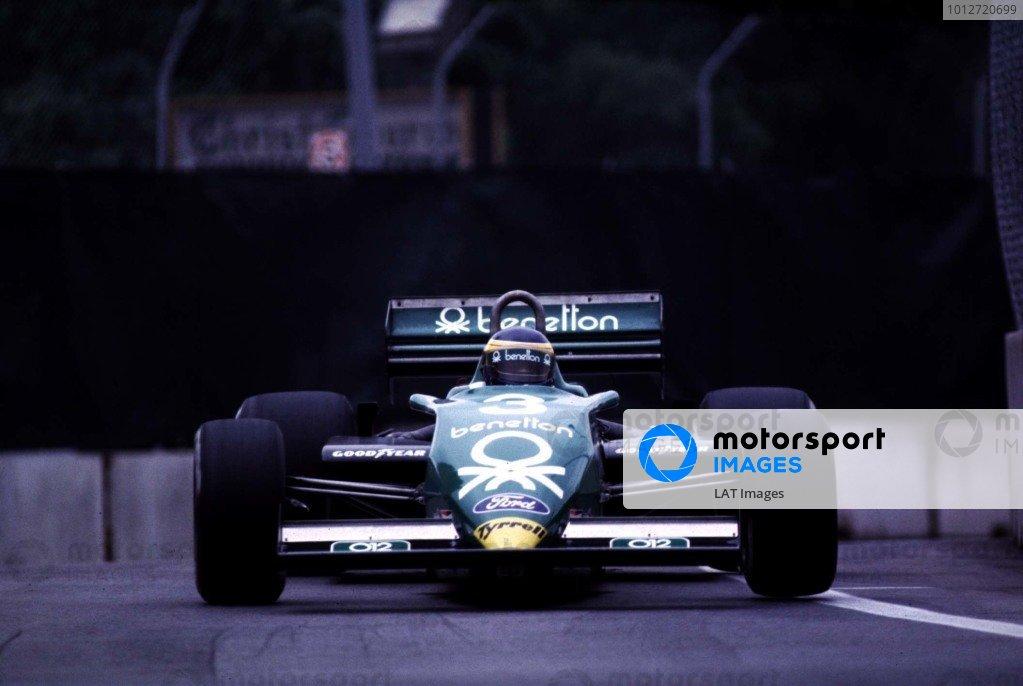 1983 United States Grand Prix East.