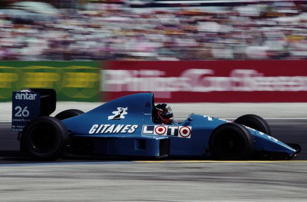 Olivier Grouillard, Ligier JS33 Ford.