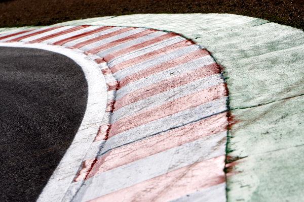 Spa Francorchamps, Spa, Belgium.4th September 2008.Kerbs. Circuit detail.World Copyright: Andrew Ferraro/LAT Photographicref: Digital Image _H0Y3464