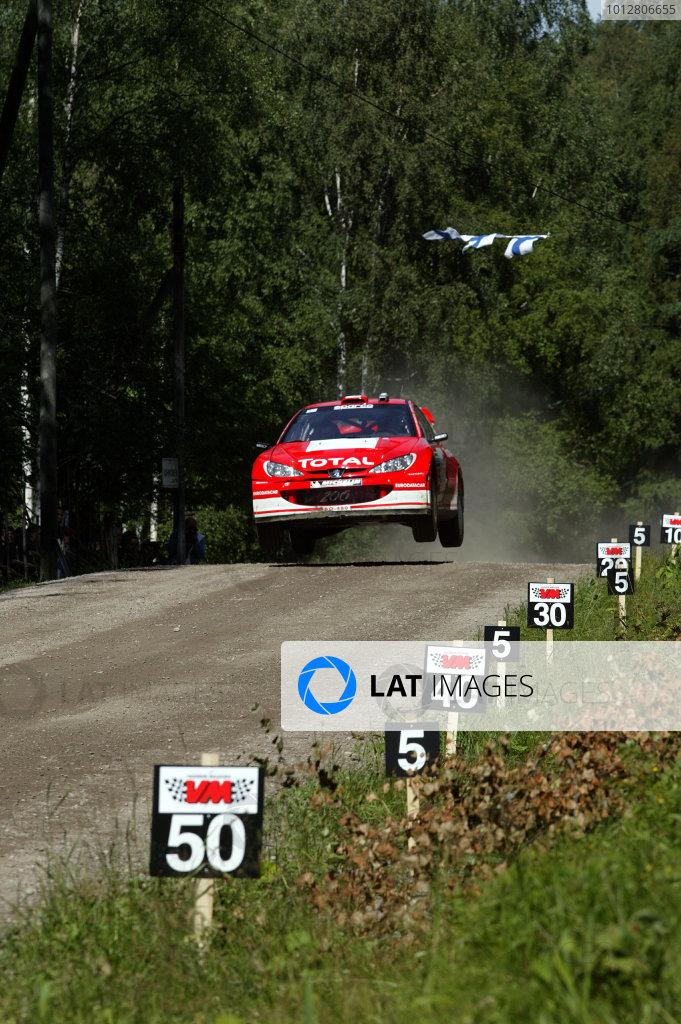 2003 FIA World Rally Champs. Round nine, Neste Rally Finland. Rally