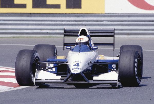 1992 Canadian Grand Prix.Montreal, Quebec, Canada. 12-14 June 1992.Andrea de Cesaris (Tyrrell 020B Ilmor) 5th position.Ref-92 CAN 20.World Copyright - LAT Photographic