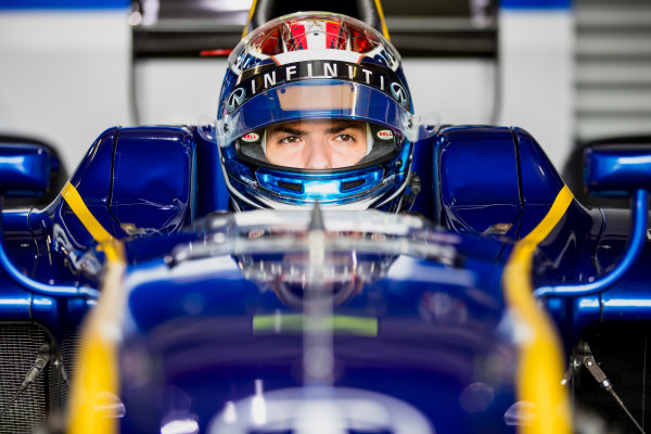 2017 FIA Formula 2 Round 8. Spa-Francorchamps, Spa, Belgium. Friday 25 August 2017. Nicholas Latifi (CAN, DAMS).  Photo: Zak Mauger/FIA Formula 2. ref: Digital Image _56I1043