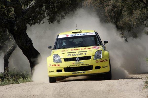 2006 FIA World Rally Championship.Round 7. 18th - 21st May 2006.Rally of Italy, Sardinia.Guy Wilks, Suzuki, action.World Copyright: McKlein/LAT