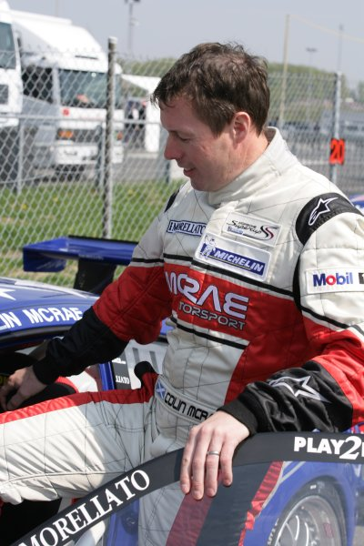 2006 European Grand Prix - Porsche Supercup Nurburgring, Germany. 4th - 7th May  2006 Colin McRae, Morellato Stars Team, portrait. World Copyright: Charles Coates/LAT Photographic ref: Digital Image ZK5Y2946