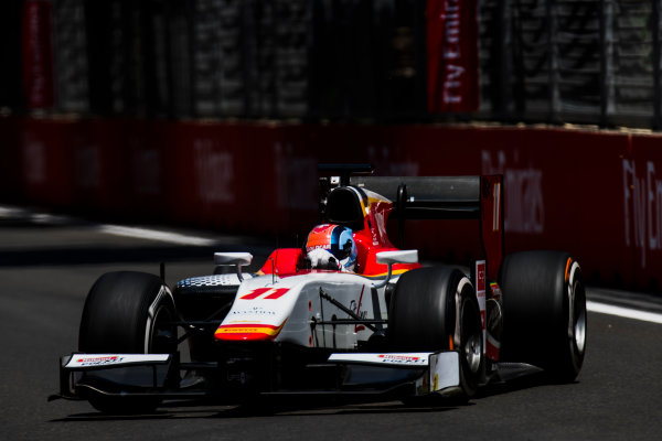 2017 FIA Formula 2 Round 4. Baku City Circuit, Baku, Azerbaijan. Friday 23 June 2017. Ralph Boschung (SUI, Campos Racing)  Photo: Zak Mauger/FIA Formula 2. ref: Digital Image _54I9762