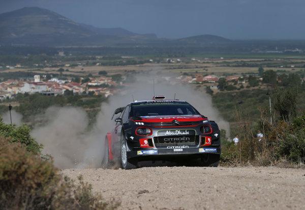 2017 FIA World Rally Championship, Round 07, Rally Italia Sardegna, June 8-11, 2017, Andreas Mikkelsen, Citroen, action Worldwide Copyright: McKlein/LAT