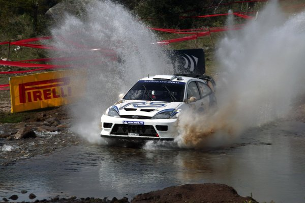 2003 FIA World Rally Champs. Round Five, Argentina,  8th-11th May 2003 Francois Duval, Ford, action. World Copyright: McKlein/LAT