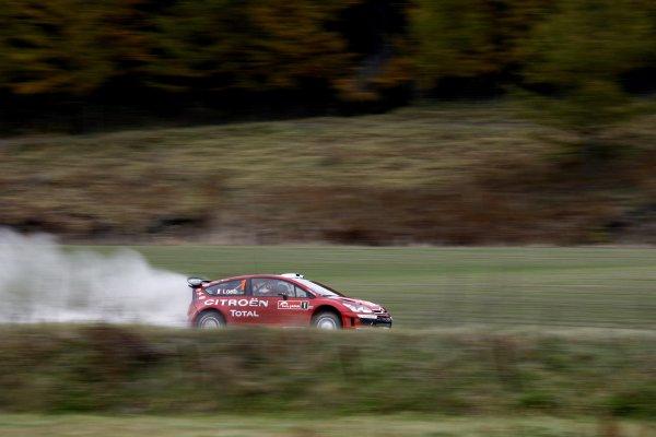 2007 FIA World Rally Champs. Round 14Rally Japan, 25th - 28th October 2007Sebastien Loeb, Citroen, actionWorld Copyright: McKlein/LAT