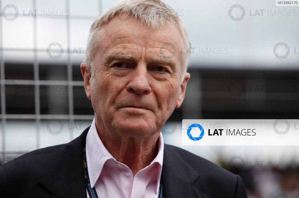 Silverstone, Northamptonshire, England21st June 2009Max Mosley, FIA President. Portrait. World Copyright: Steven Tee/LAT Photographicref: Digital Image _MG_4963