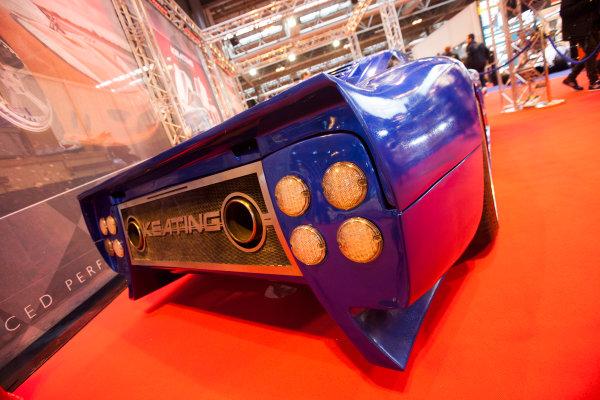 Autosport International Exhibition. National Exhibition Centre, Birmingham, UK. Friday 9 January 2015. The Keating Supercars stand. World Copyright: Edd Hartley/Jakob Ebrey/LAT Photographic. ref: Digital Image _MG_1925