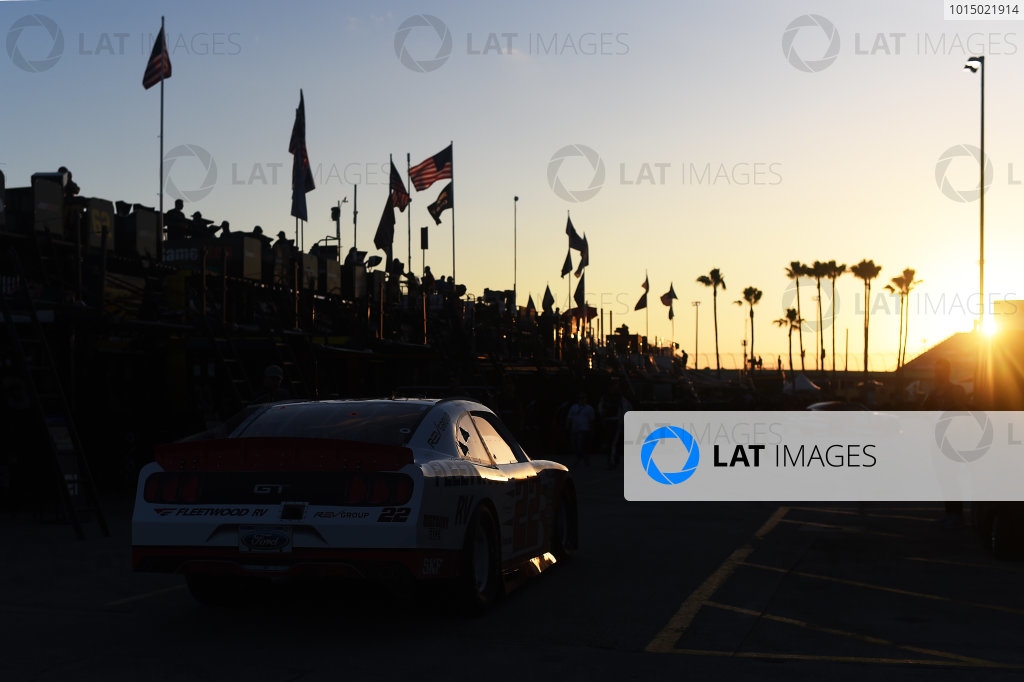 NASCAR XFINITY Series Homestead-Miami Speedway, Homestead, Florida USA Friday 17 November 2017 Sam Hornish Jr., Team Penske Ford World Copyright: Rainier Ehrhardt / LAT Images ref: Digital Image rainier-1371