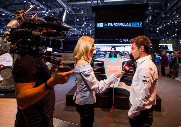2017/2018 FIA Formula E Championship. Geneva Motor Show Tuesday 6 March 2018. The FIA Formula-E Gen2 car is unveiled. Photo: Sam Bloxham/LAT/Formula E ref: Digital Image _W6I3949