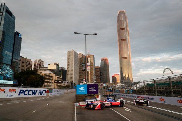 2017/2018 FIA Formula E Championship. Round 1 - Hong Kong, China. Saturday 02 December 2017. Nick Heifeld (GER), Mahindra Racing, Mahindra M4Electro. Photo: Sam Bloxham/LAT/Formula E ref: Digital Image _J6I3743