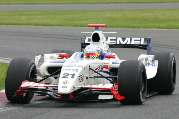 Giedo Van Der Garde (NED) P1 Motorsport World Series By Renault, Rd4, Silverstone, England. 06 June 2008