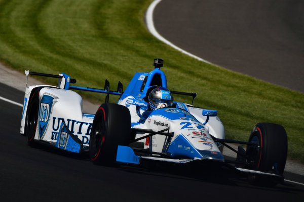 Verizon IndyCar Series Indianapolis 500 Practice Indianapolis Motor Speedway, Indianapolis, IN USA Monday 15 May 2017 Marco Andretti, Andretti Autosport with Yarrow Honda World Copyright: Scott R LePage LAT Images ref: Digital Image lepage-170515-indy-1567