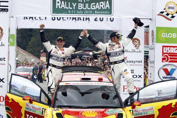 Round 07Rally Bulgaria 8-11 July  2010Petter Solberg, Chris Patterson, Citroen WRC, PodiumWorldwide Copyright: McKlein/LAT