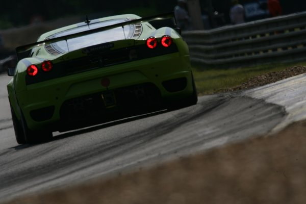 2007 Le Mans Test Day2nd and 3rd June 2007.Le Mans, France.Sunday Test DayTracy Krohn (USA)/Nic Jonsson (SWE)/C. Braun (USA) (no 99 Ferrari F430 GT) action.World Copyright: Glenn Dunbar/LAT Photographic. ref: Digital Image YY8P5829