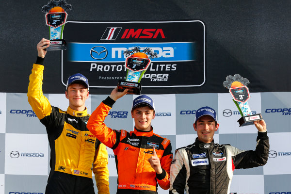 16-18 March, 2016, Sebring, Florida, USA IMSA MPL L1 Podium Race 2 ?2016, Jake Galstad LAT Photo USA