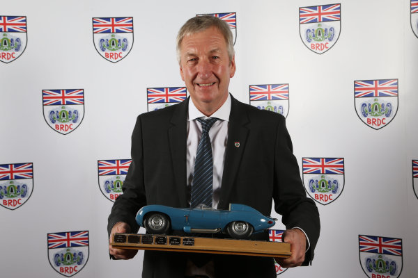 2015 British Racing Drivers Club Awards Grand Connaught Rooms, London Monday 7th December 2015 Richard Dutton (Fortec). World Copyright: Jakob Ebrey/LAT Photographic ref: Digital Image Dutton-01