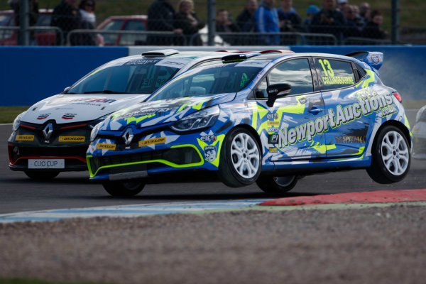 2016 Renault Clio Cup, Donington Park, 16th-17th April 2016, Rory Collingbourne (GBR) Team Cooksport Renault Clio Cup  World copyright. Jakob Ebrey/LAT Photographic