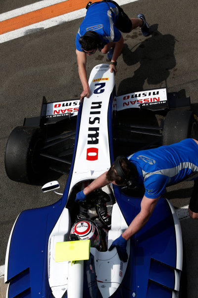 2015 GP3 Series Test 2 - Circuit Ricardo Tormo, Valencia, Spain. Friday 10 April 2015. Jann Mardenborough, (GBR, Carlin)  Photo: Sam Bloxham/GP3 Series Media Service. ref: Digital Image _SBL5276