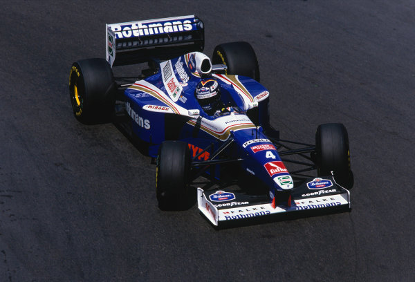 Monte Carlo, Monaco. 8-11 May 1997.Heinz-Harald Frentzen (Williams FW19 Renault).Ref-97 MON 45.World Copyright - LAT Photographic