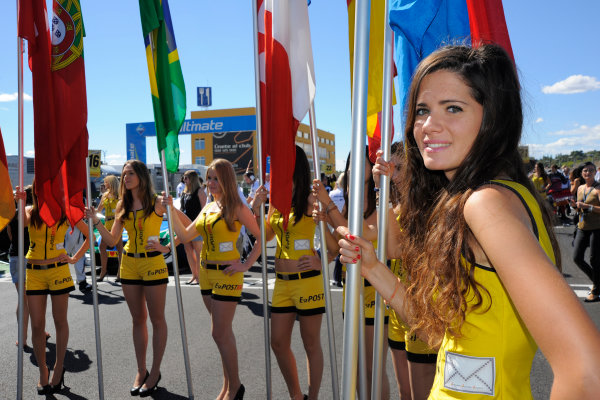 Round 9 - Valencia, Spain28th - 30th September 2012grid girlWorld Copyright:  XPB Images / LAT Photographicref: Digital Image 2375607_HiRes