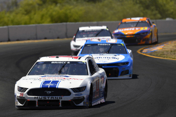 #14: Chase Briscoe, Stewart-Haas Racing, Ford Mustang Ford Performance Racing School