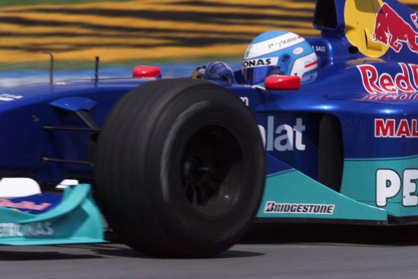 2000 Canadian Grand Prix.Montreal, Quebec, Canada.16-18 June 2000.Mika Salo (Sauber C19 Petronas).World Copyright - LAT Photographic