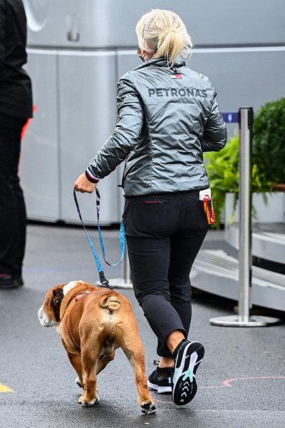 Lewis Hamilton's dog