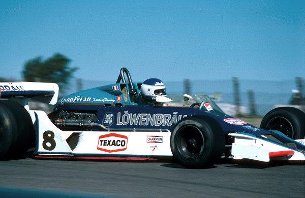 1978 United States Grand Prix East.Watkins Glen, New York, USA.29/9-1/10 1978.Patrick Tambay (McLaren M26 Ford) 6th position.World Copyright - LAT Photographic
