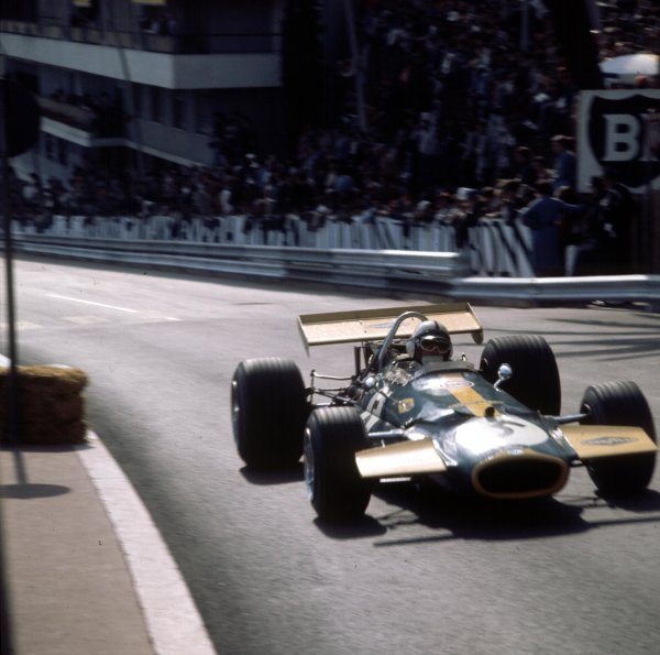 1970 Monaco Grand Prix.Monte Carlo, Monaco.7-10 May 1970.Jack Brabham (Brabham BT33 Ford) 2nd position.Ref-3/4037T.World Copyright - LAT Photographic