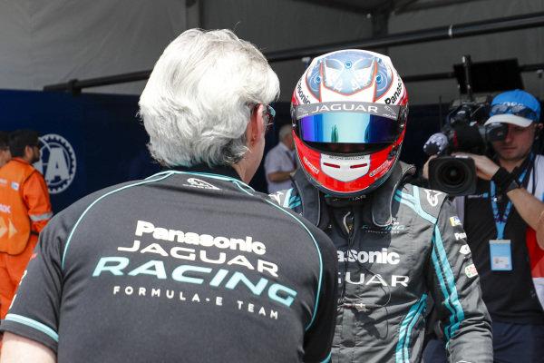 Mitch Evans (NZL), Panasonic Jaguar Racing, Jaguar I-Type 4, after securing pole