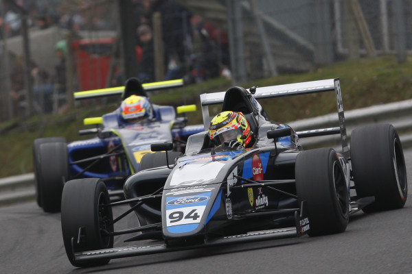 Sebastian Alvarez (MEX) Double R Racing British F4