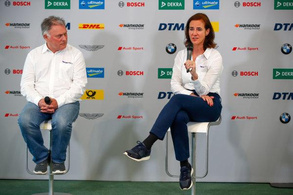 Catherine Bond Muir, CEO with Dave Ryan, Racing Director