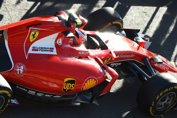 Kimi Raikkonen (FIN) Ferrari SF15-T at Formula One World Championship, Rd1, Australian Grand Prix, Practice, Albert Park, Melbourne, Australia, Friday 13 March 2015.