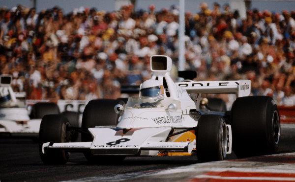 Jody Scheckter, McLaren M23 Ford.