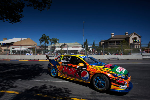 2013 V8 Supercar Championship. Round 1. Clipsal 500, Adelaide. 3rd March 2013. Sunday Race 2. Will Davison (Pepsi Max Crew/Ford Performance Racing – Ford Falcon FG) Action.  World Copyright:  Daniel Kalisz/LAT Photographic Ref: Digital Image DKAL7046.jpg .