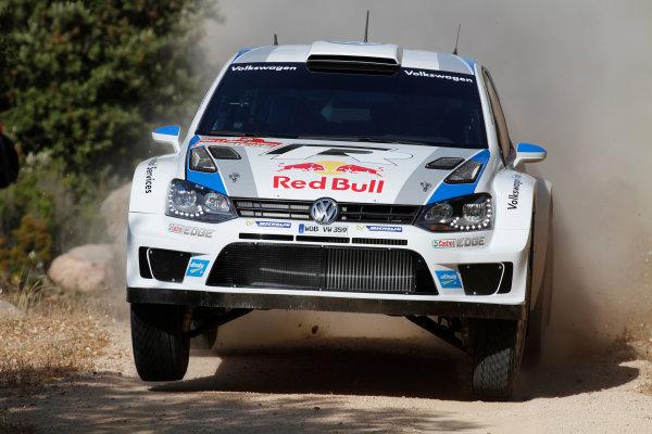 2013 World Rally Championship Rally of Italy, Sardinia 20th - 22nd June 2013 Sebastien Ogier, VW, action Worldwide Copyright: McKlein/LAT