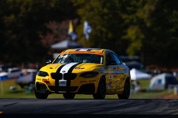 IMSA Continental Tire SportsCar Challenge Fox Factory 120 Road Atlanta, Braselton GA Thursday 5 October 2017 54, BNW, BMW 228i, ST, Michael Johnson, Stephen Simpson World Copyright: Jake Galstad LAT Images