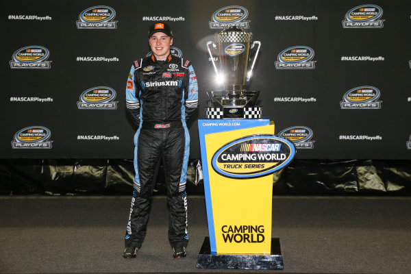NASCAR Camping World Truck Series TheHouse.com 225 Chicagoland Speedway, Joliet, IL USA Friday 15 September 2017 Christopher Bell, SiriusXm Toyota Tundra World Copyright: Barry Cantrell LAT Images