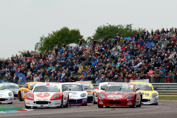 2017 Ginetta Junior championship  Thruxton, 6th-7th May 2017,  Seb Priaulx JHR Developments Ginetta Junior World copyright. JEP/LAT Images