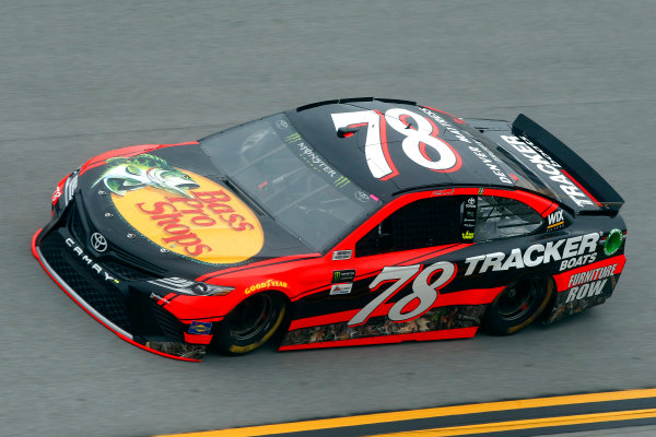 Monster Energy NASCAR Cup Series GEICO 500 Talladega Superspeedway, Talladega, AL USA Friday 5 May 2017 Martin Truex Jr, Furniture Row Racing, Bass Pro Shops/TRACKER BOATS Toyota Camry World Copyright: Lesley Ann Miller LAT Images ref: Digital Image lam_170505DEGA49081