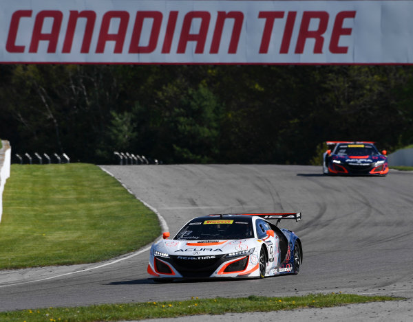 Pirelli World Challenge Victoria Day SpeedFest Weekend Canadian Tire Motorsport Park, Mosport, ON CAN Friday 19 May 2017 Ryan Eversley/ Tom Dyer World Copyright: Richard Dole/LAT Images ref: Digital Image RD_CTMP_PWC17026