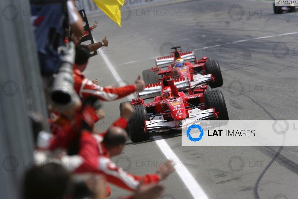 2006 German Grand Prix - Sunday Race