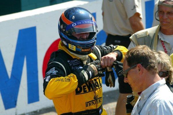 Patrick Huisman (NED) DeWalt Racing.Porsche Supercup, Rd8, Hockenheim, Germany,3 August 2003.DIGITAL IMAGE