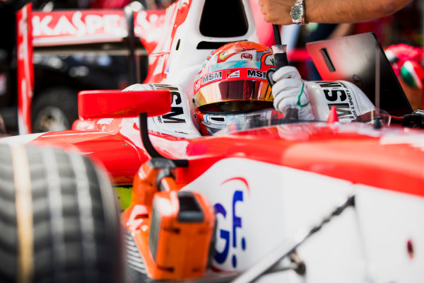 2017 FIA Formula 2 Round 4. Baku City Circuit, Baku, Azerbaijan. Friday 23 June 2017. Antonio Fuoco (ITA, PREMA Racing)  Photo: Zak Mauger/FIA Formula 2. ref: Digital Image _56I6763