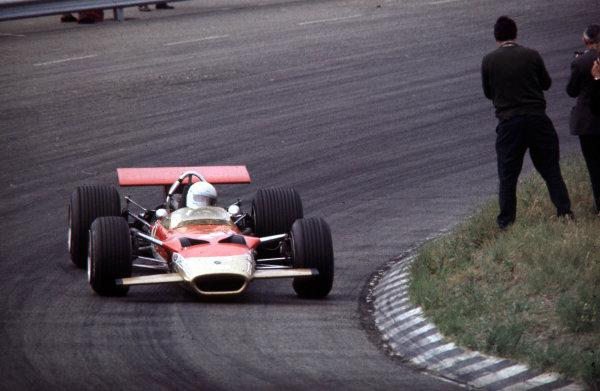 1969 Dutch Grand Prix.Zandvoort, Holland.19-21 June 1969.Jochen Rindt (Lotus 49B Ford).World Copyright - LAT Photographic
